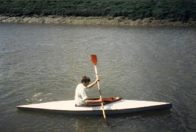 nigel foster's first kayak, the PBK-11