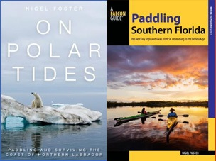Books, on polar tides and Paddling Southern Florida explore the extreme tips of the east coast of continental North Americaic