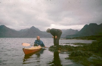 Geoff Hunter in Vyneck Kayak Iceland